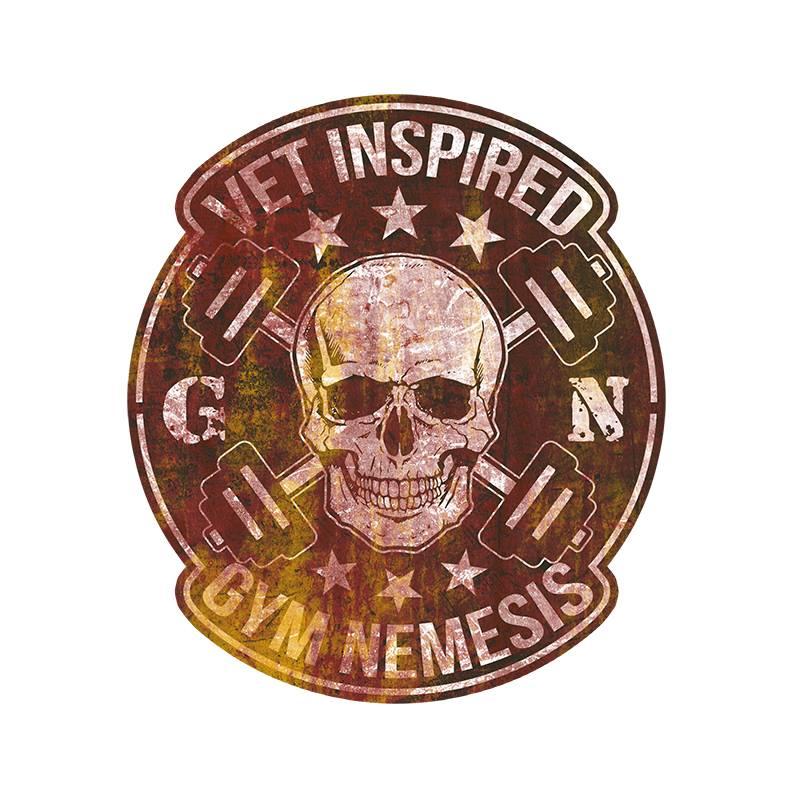 gym nemesis logo design by keena wolff