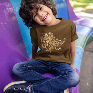 Adorable Lizard boys or girls shirt design southwestern folks wil love this as a gift