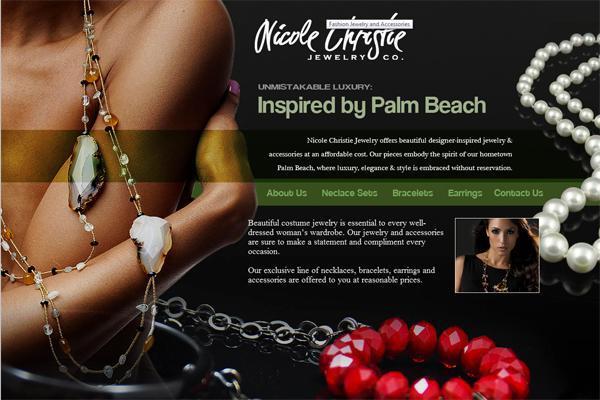 Nicole Christie Jewelry Company Website