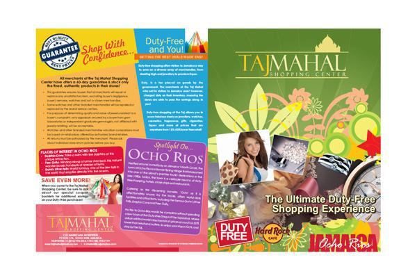 Product brochure design and printing