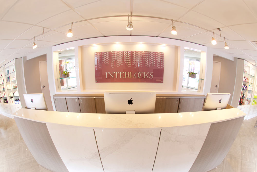 Front Desk at INTERLOCKS Salon + Spa