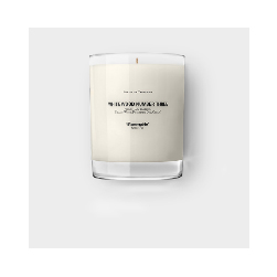 Baxter White Wood 3 Candle