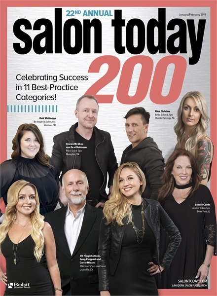 January 2019 Salon Today Top 200 Magazine