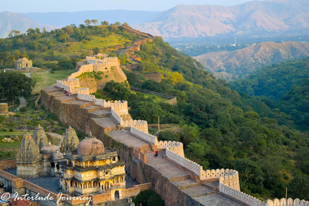 Explore the great wall of India