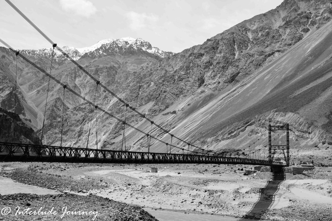 Ladakh in Monochrome