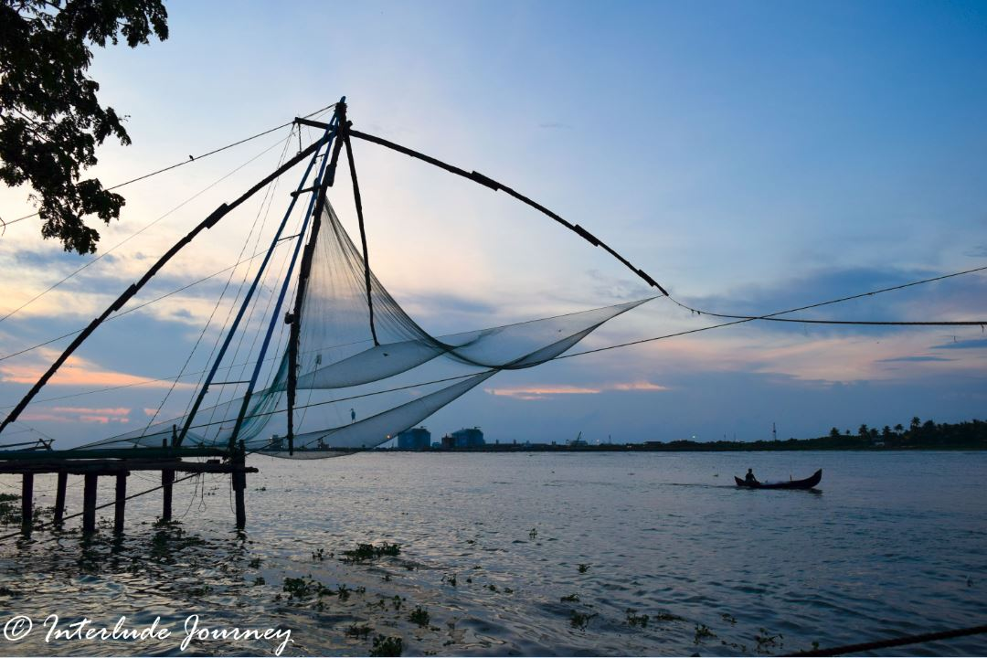Chinese Fishing Net in fort Kochi