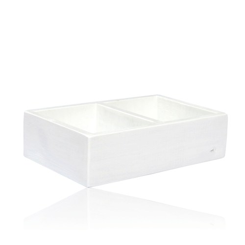 INTERMARKET BEVERAGES TEABOX WHITE DOUBLE