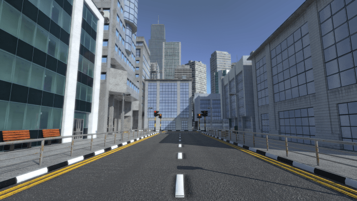 Urban City in Unity 5