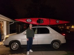 11:30 pm in Richfield on Sat Night - ready to head to Paul's house.