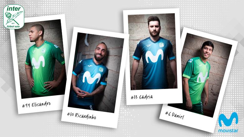 Movistar Inter FS presenta las espectaculares equipaciones oficiales de  juego diseñadas por Joma para la temporada bf029fd473389