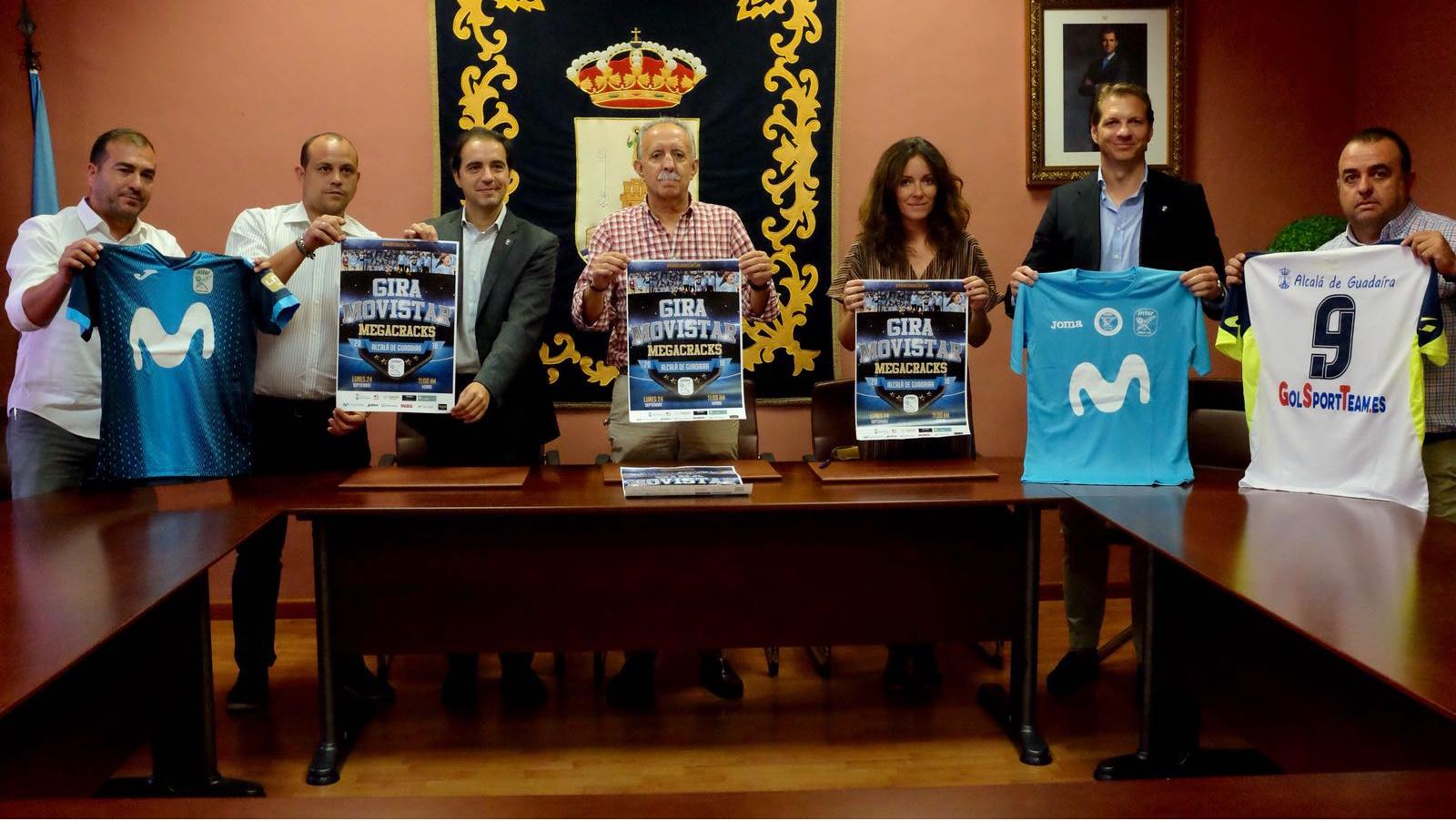 La Gira Movistar Megacracks hará parada en Alcalá de Guadaíra
