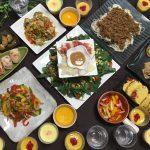 野菜ソムリエのゴーヤ&パプリカ会。持ち寄りランチ会の料理13種類一挙公開。