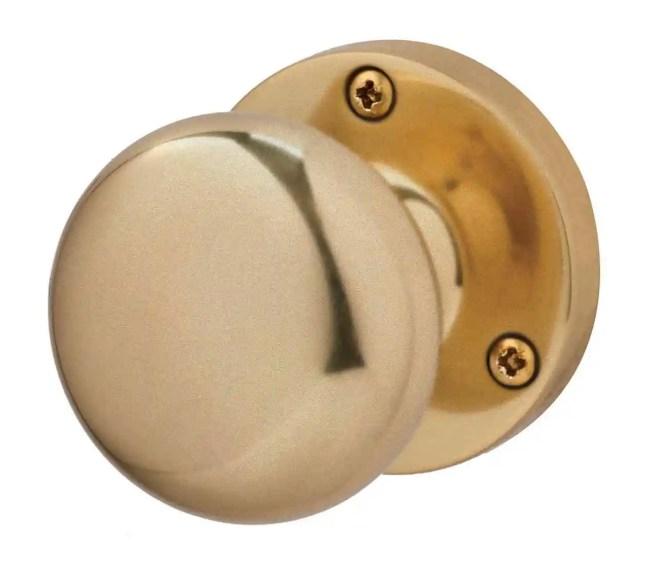 Ironmongery Charon Satin Brass Handle Hardware Pack
