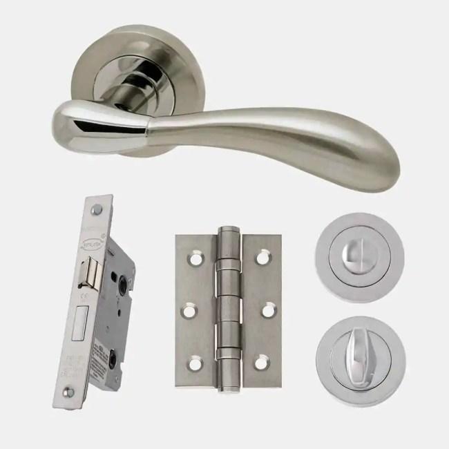 Ironmongery Venus Privacy Handle Hardware Pack