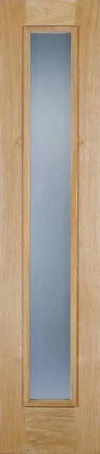 Oak Frosted Sidelight Glazed 1L