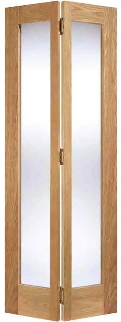 Oak Pattern 10 Glazed 2L Bi Fold