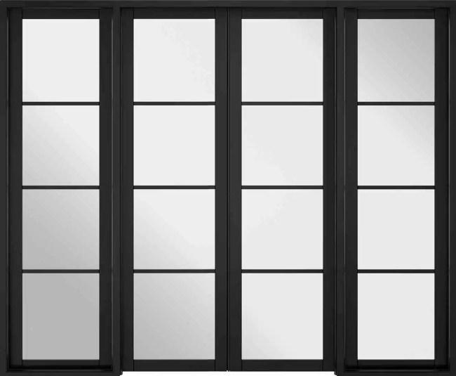 Room Divider Black Soho W8