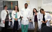L to R: Julia Freel, ARNP; Jenna Nielsen, ARNP; Manju Jayanna, MD; Jeydith Gutierrez, MD; Prerna Kumar, MD