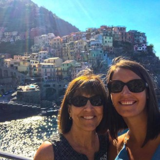 Jamie Mom Cinque Terre 2017
