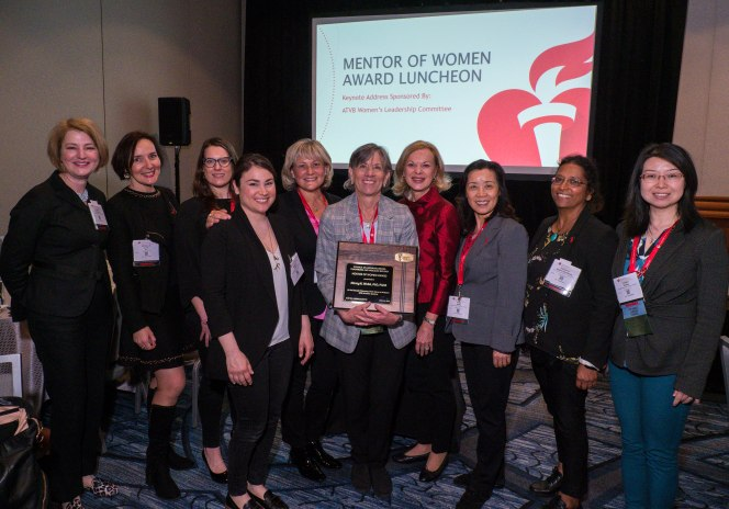 Awardees, Speakers and attendees during Mentor of Women Luncheon