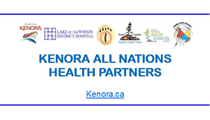 Kenora All Nations Health Partners Logo