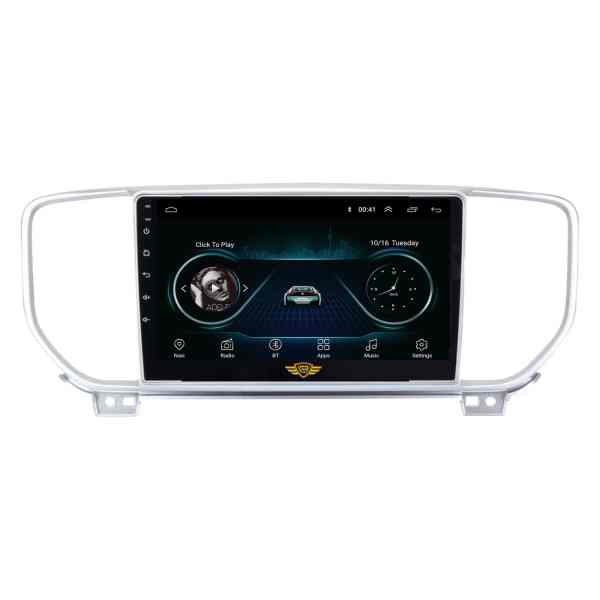 """Ateen Kia Sportage Car Music System with Navigation Touch Screen 9""""inch Display Android Player / Stereo"""