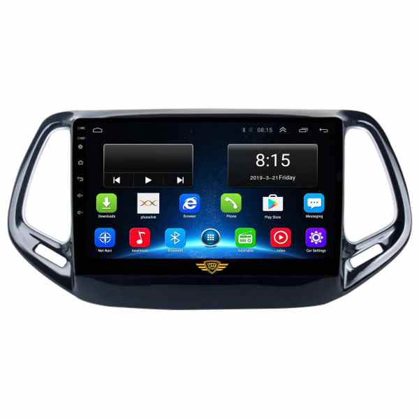 Ateen Jeep Compass Car Music System