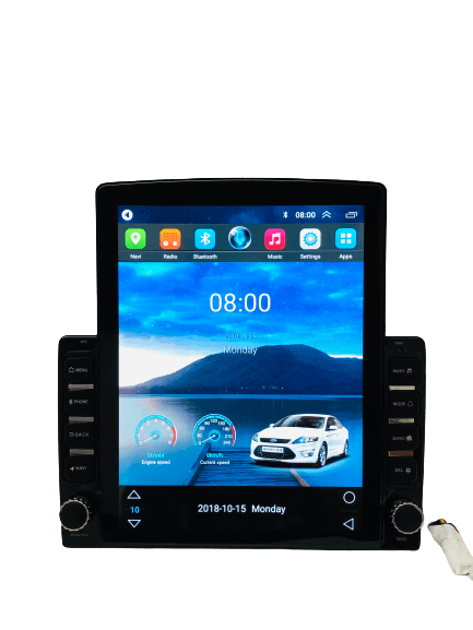 Ateen New Tesla Type Double Din Touch Screen Android for TUV300