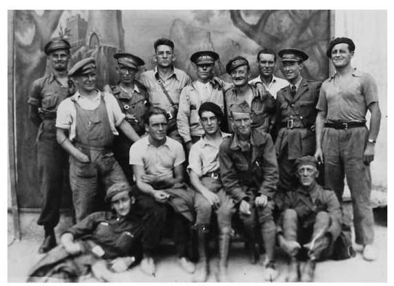 Image result for irish brigade spanish civil war