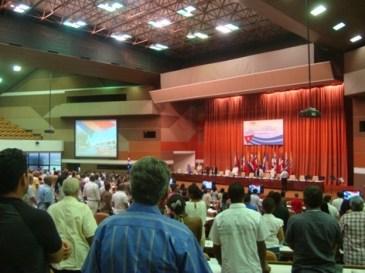 Meeting at the ICA (Instituto de Ciencia Animal) - Cuba