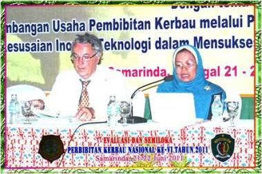 Antonio Borghese (Italy) and Bess Tiesnamurti (Indonesia)