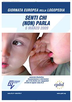 """A poster in Italian that says, """"Senti Chi (Non) Parla"""""""