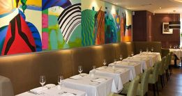 Interior picture of Campagne Restaurant in Kilkenny taken from its website campagne.ie