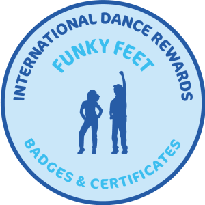 Funky Feet Badges & Certificates