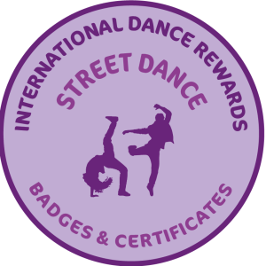 Street Dance Badges & Certificates