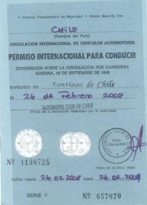 chile-international driving permit