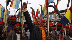 Nepalesen setzten sich für die konstitutionelle Monarchie ein