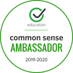 Common Sense Media Ambassador 2019-2020