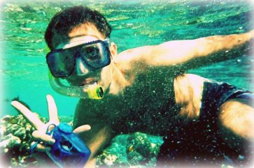 Snorkeling in the Red Sea in Sharm el-Sheikh, Egypt