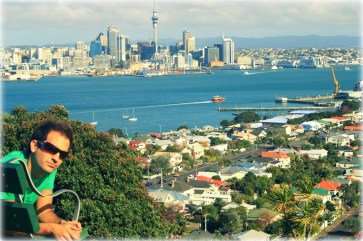 Auckland Cityscape as seen from Devonport
