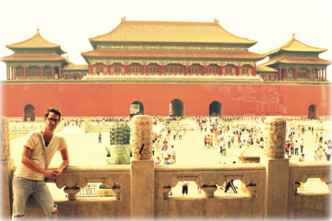 Inside the Forbidden City in Beijing, China