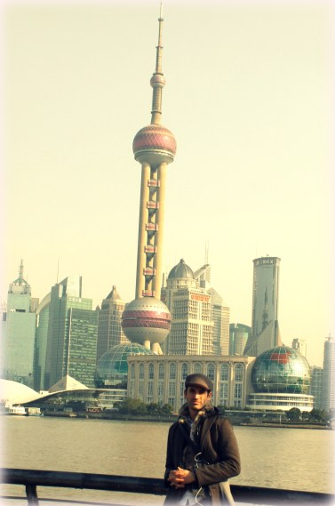 Shanghai skyline, one of the best in the world.