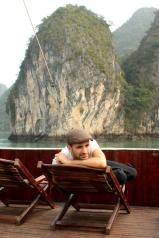 Cruising Halong Bay in Vietnam