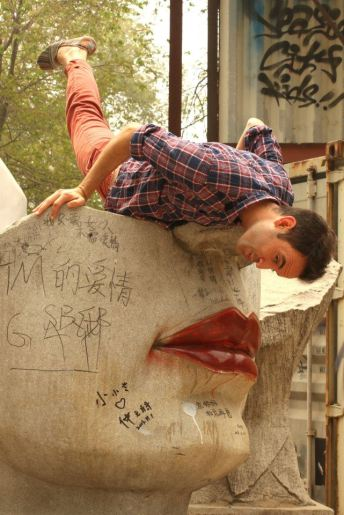Hanging out in Beijing's 798 Art Zone