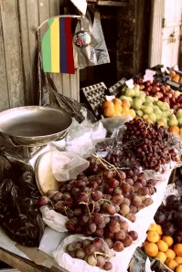 Fresh fruit from the island