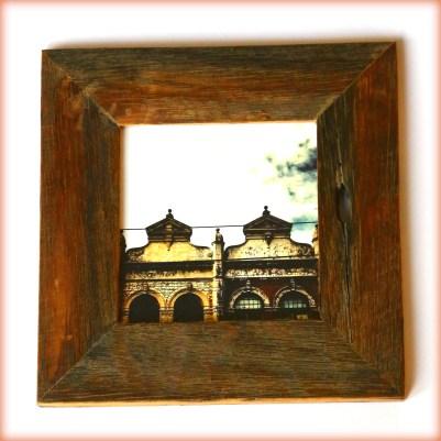 Reclaimed timber frames