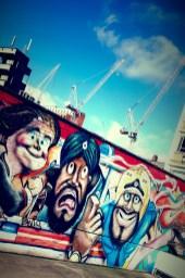 Enjoying yet more colorful street art