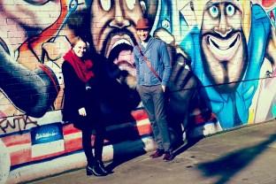 friends and graffiti