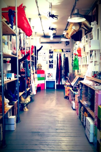 Make sure to stop into TUSCH UND EGON at the BOXPARK. This funky space stocks quirky and affordable artwork and design objects