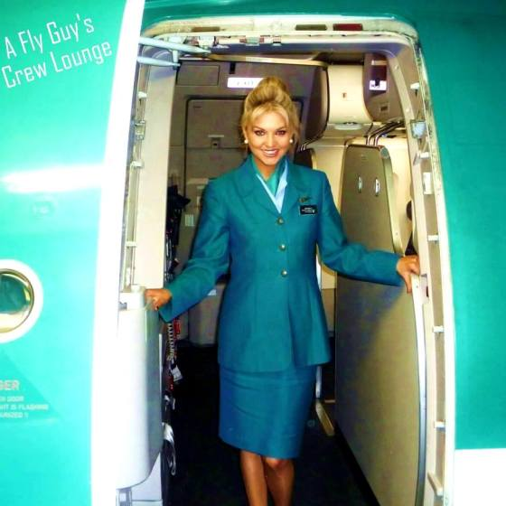 Aer Lingus crew